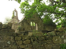 Llanfihangel Ysgeifiog, ruins of St Mihangel church, Anglesey © Eric Jones